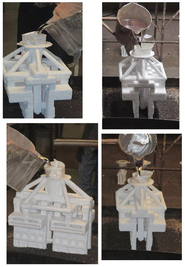 Metal casting process