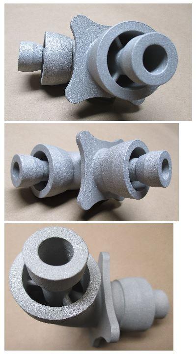Precision metal casting